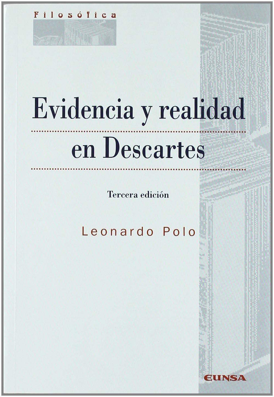Evidencia y realidad en Descartes Colección filosófica: Amazon.es ...