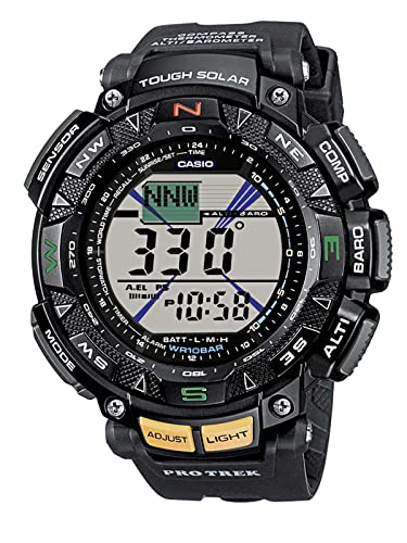 847793d93259 Casio Men s Digital Watch with Resin Strap PRG-240-1ER  Amazon.co.uk   Watches