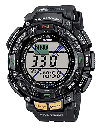 adb86aada86b Casio PRG-240-1ER Pro Trek - Reloj para Hombre  Amazon.es  Relojes