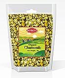 Sunbest Organic Chamomile Flowers, Egyptian, Whole / Loose, Caffeine Free, Herbal Leaf Tea - Relaxing Tea (16 Oz (1 Lb))