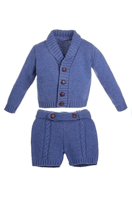 Ancar - Conjunto para bebé de chaqueta y pantalón de lana ...