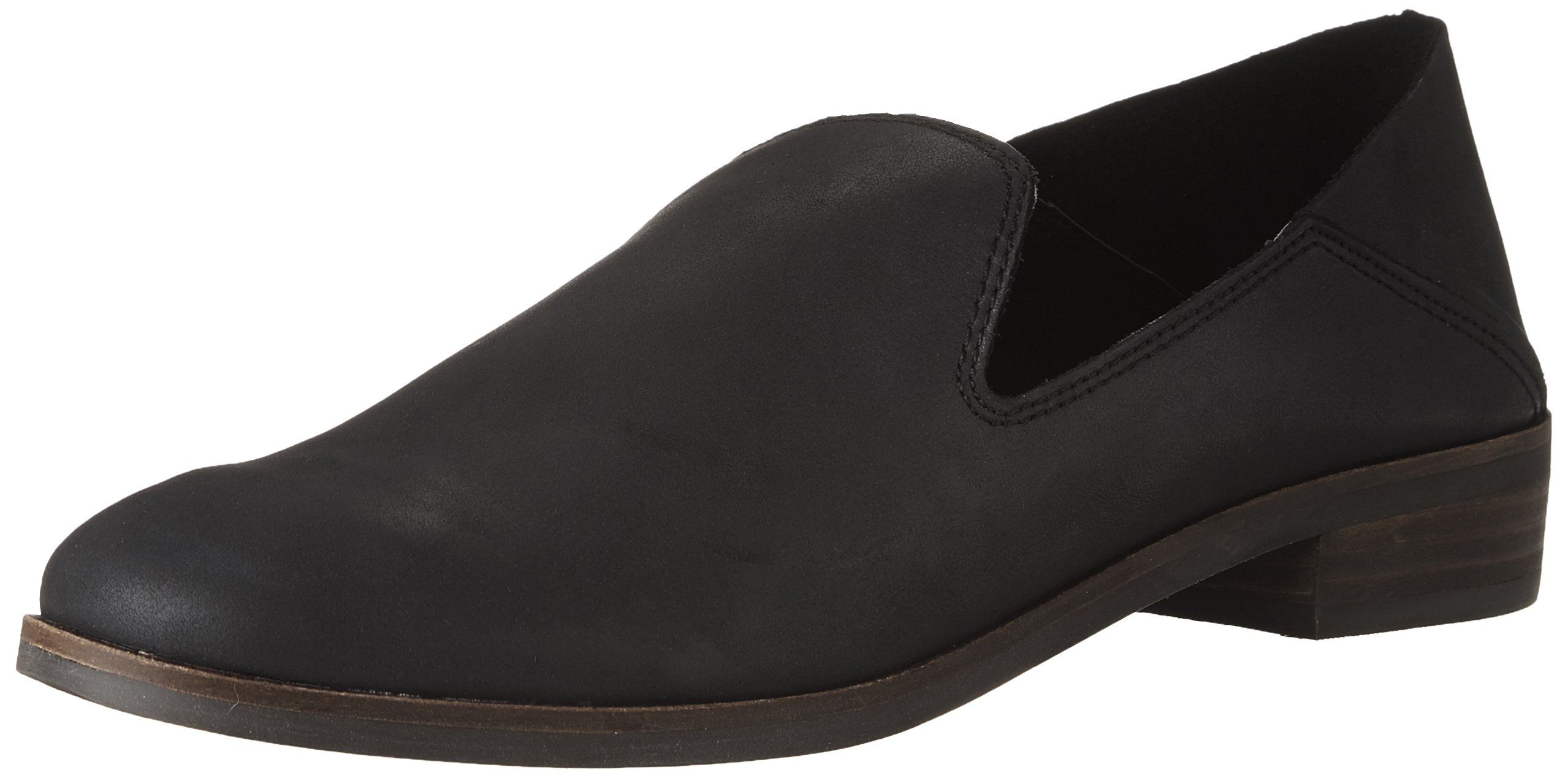 Lucky Brand Women's Cahill Loafer Flat, 6 Medium US,black