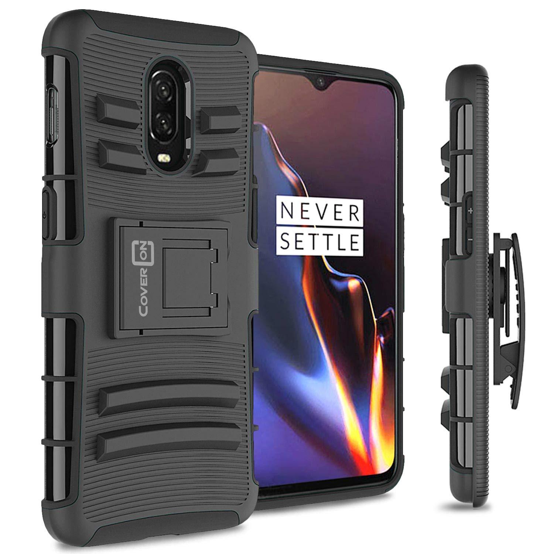 check out e9c99 05324 Amazon.com: CoverON [Explorer Series] OnePlus 6T Holster Case, Heavy ...