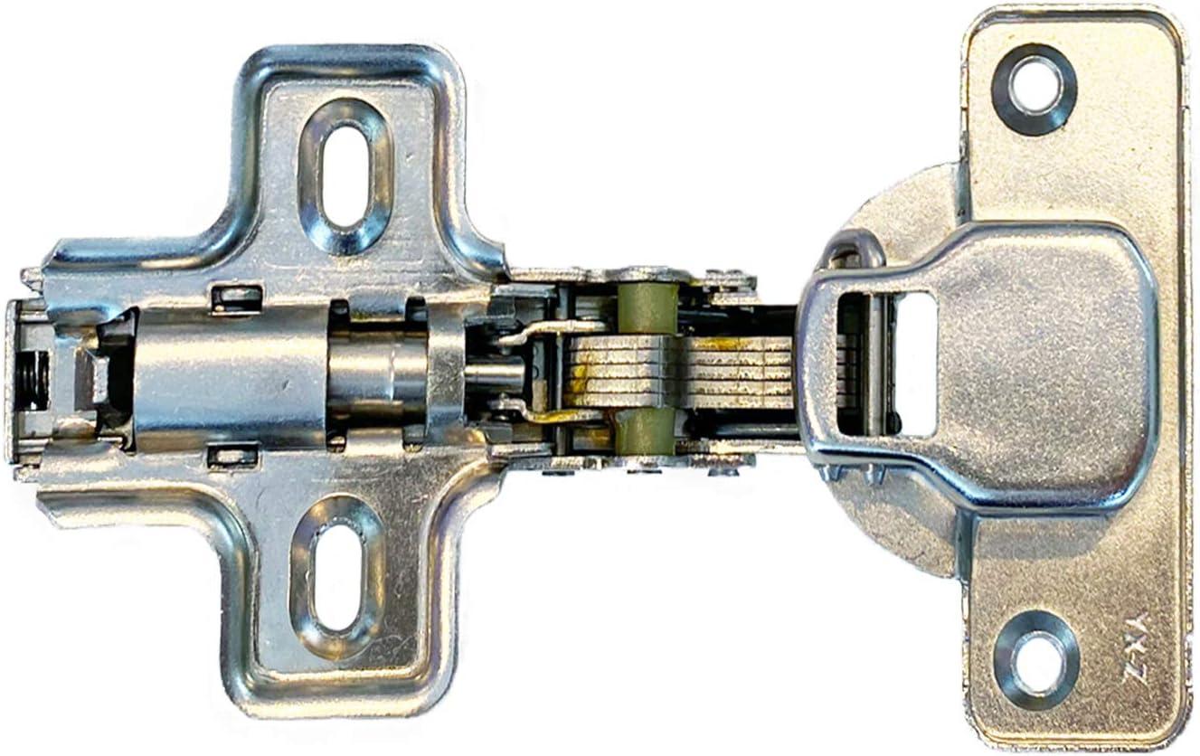10 X Mprofi MT/® Bisagras Autom/ática Cierre automatico Conjunto de Bisagras para puertas de armario de cocina 35mm