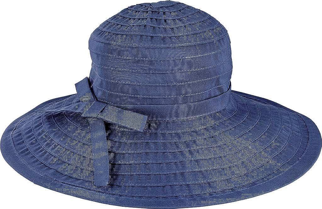 San Diego Hat Company Womens Ribbon Large Brim Hat