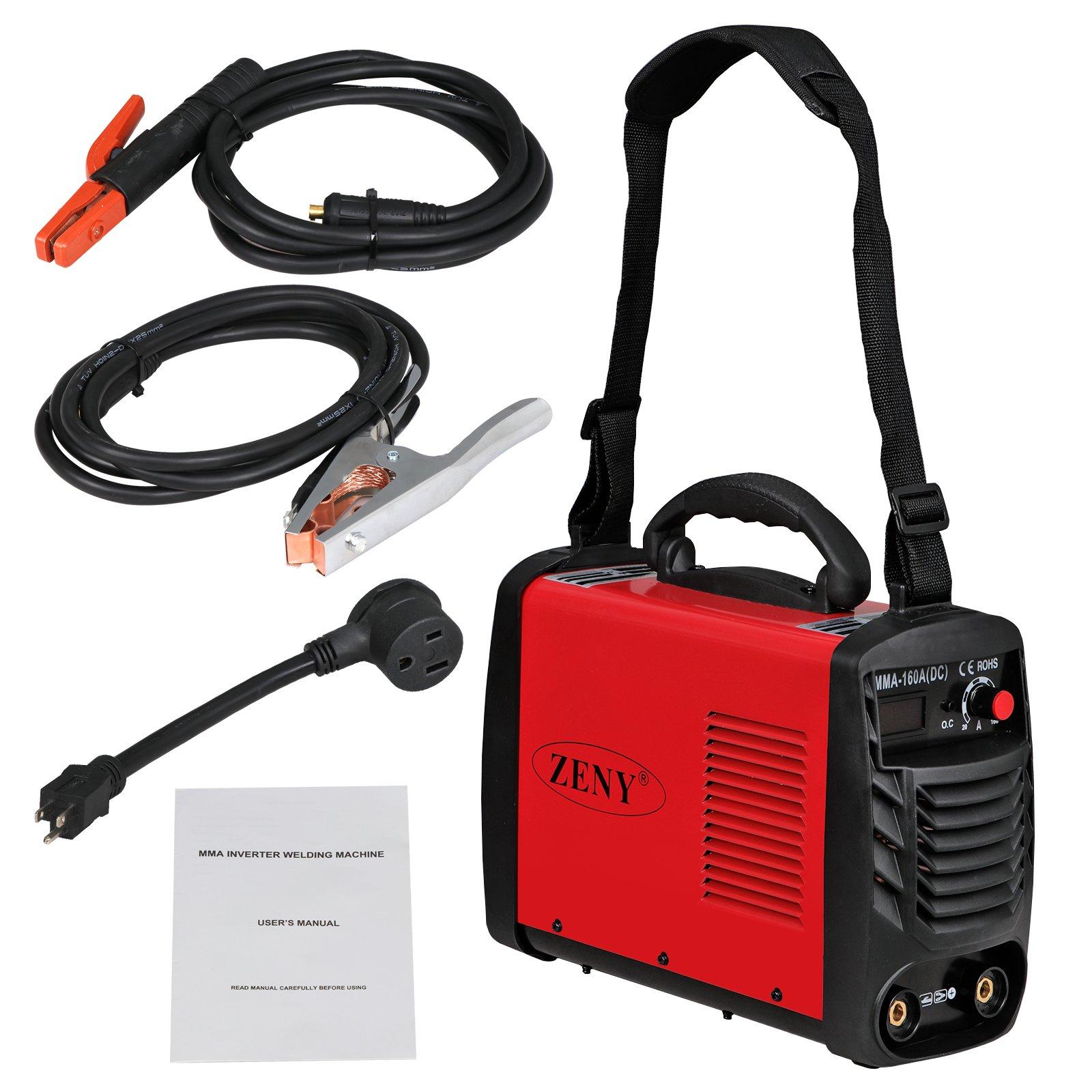 ZENY Arc Welding Machine DC Inverter Handheld Welder MMA 20-160A IGBT 110V/230V Dual Voltage IGBT Stick by ZENY (Image #3)