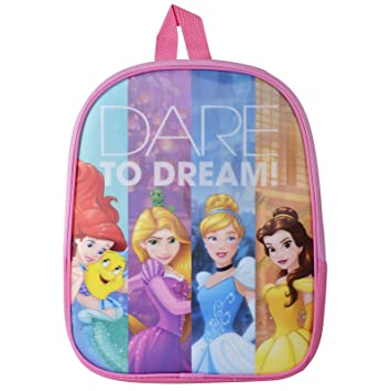 dafb616adb8 Disney Princess Junior Backpack Girls School Bag Kids Rucksack Cinderella  Belle