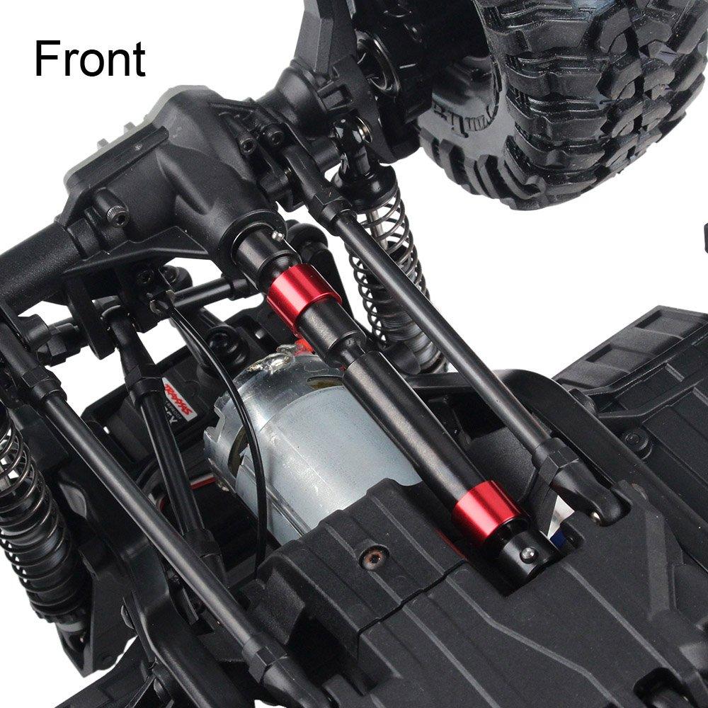 INJORA 2PCS TRX4 Metal CVD Drive Shaft for 1/10 RC Rock Crawler Traxxas TRX-4 RC Car by INJORA (Image #5)
