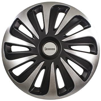Michelin 009124 Caja de tapacubos NVS 3D Black Edition, 17 Pulgadas