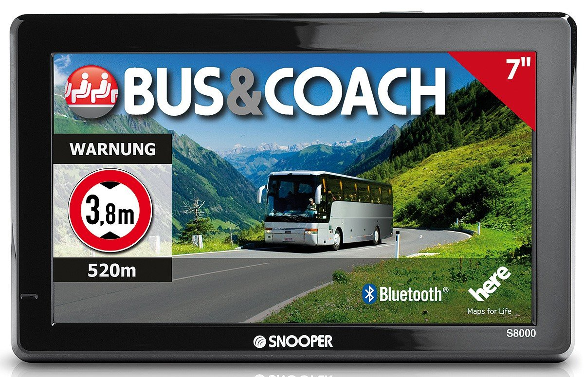 Snooper Bus & Coach Pro S8000 SAT NAV: Amazon co uk: Car