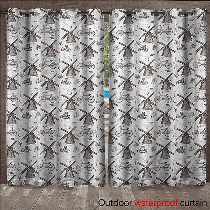 BlountDecor Cortina de Ventana Holandesa Tradicional Colorido de ...