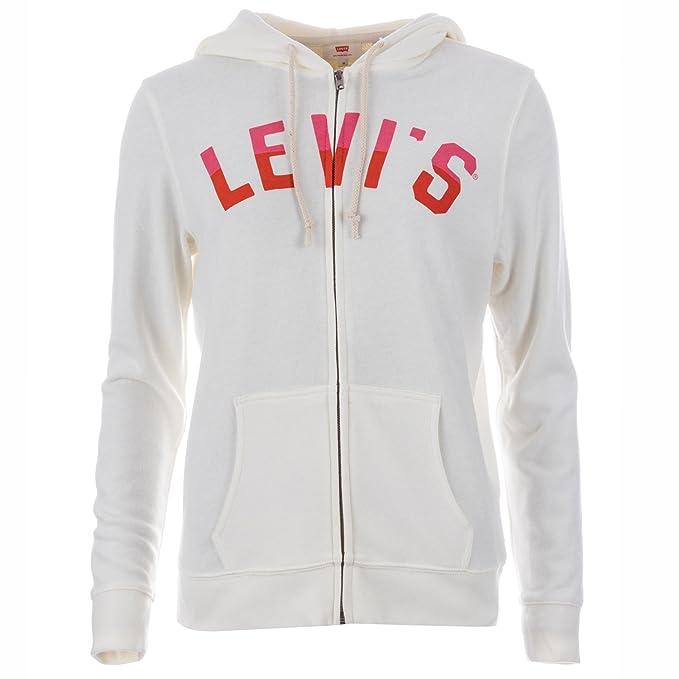 Levis - Sudadera con capucha - para mujer crema 42