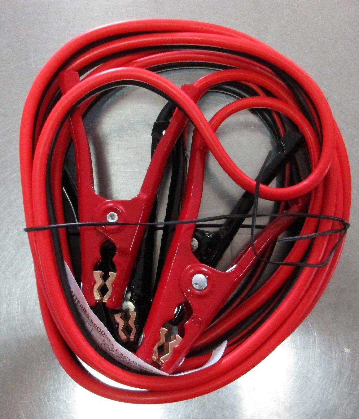 Cartman - cables de arranque de calibre 10 12 pies en bolsa (, 10 AWG, X 12 pies): Amazon.es: Coche y moto