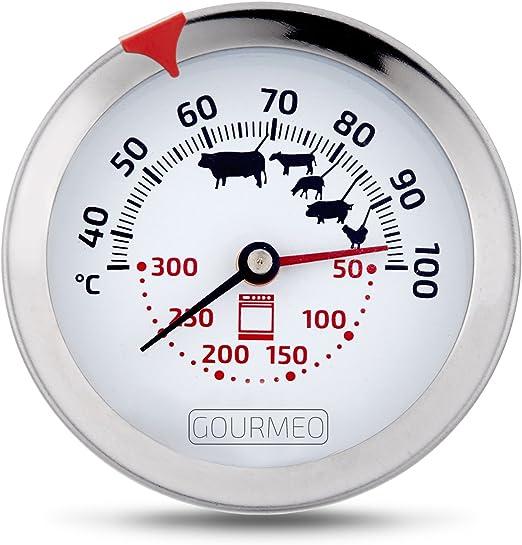 Fleischthermometer Bratenthermometer Fleisch Edelstahl Grill Thermometer