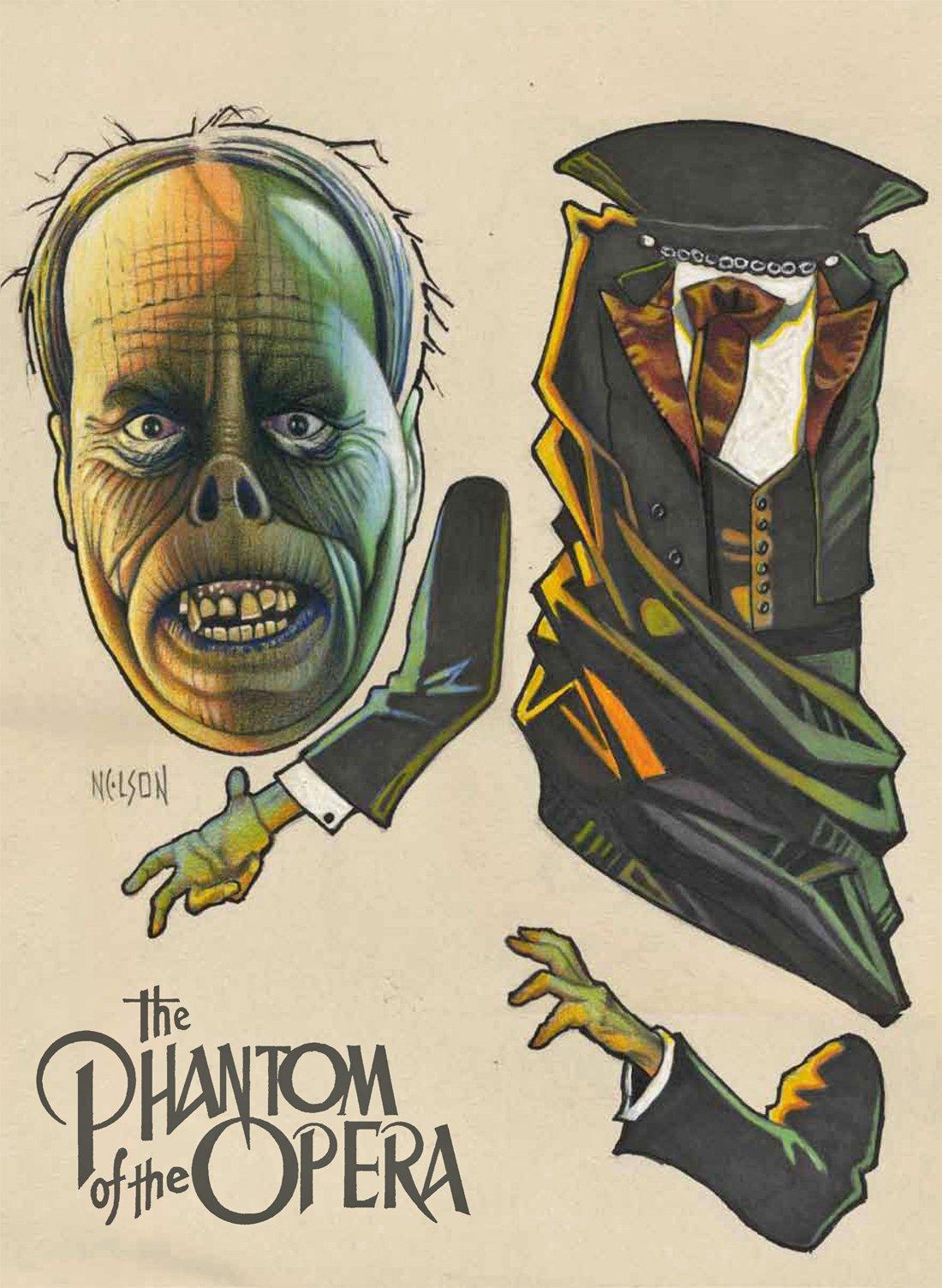 MAN OF 1000 FACES Lon Chaney ART OF BILL NELSON Ltd Edition HC Book RICK BAKER!