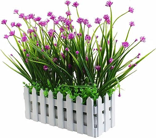Piante Per Recinzioni Giardino.Piante Artificiali Per Esterni Resistenti Ai Raggi Uv In Vaso