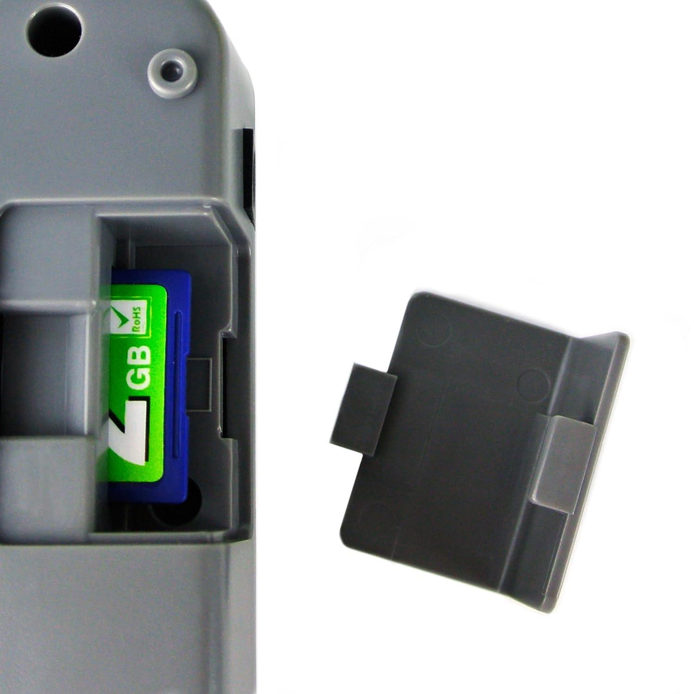 4 Canale tipo K Termometro SD Slot Data Logger temperatura termocoppia con Beeper e LED Allarme