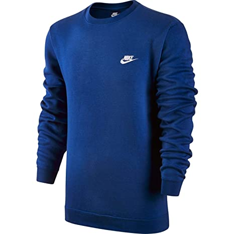 b3147315 Nike Men's M Nsw Club Crw Bb Long Sleeved T-Shirt: Amazon.co.uk ...