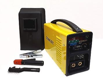 Stanley SUPER 240MA Equipo de Soldadura, 7.1 W, 230 V, Amarillo y negro: Amazon.es: Bricolaje y herramientas