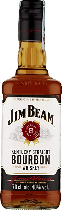 17 opinioni per Jim Beam Bourbon Whisky 70 Cl