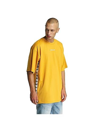 Adidas TNT Tape tee Camiseta, Hombre, Amarillo (amatac/Blanco), XS