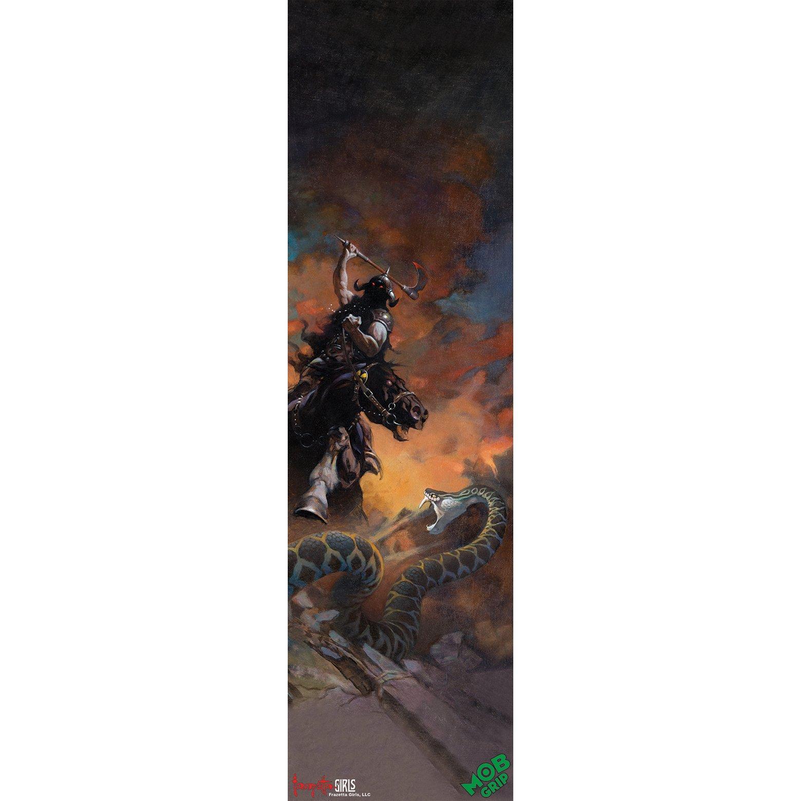 Mob Grip Skateboard Griptape Frazetta Death Dealer 6 9'' x 33''
