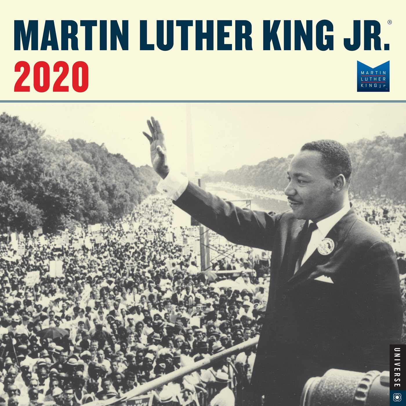 Martin Luther King, Jr. 2020 Wall Calendar by Universe Publishing