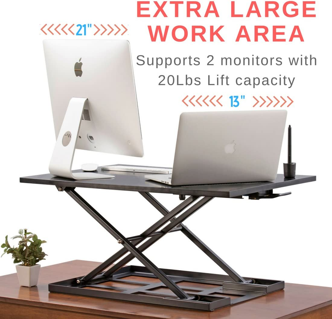 Best Sit-stand Workstation For Dual Monitorsv