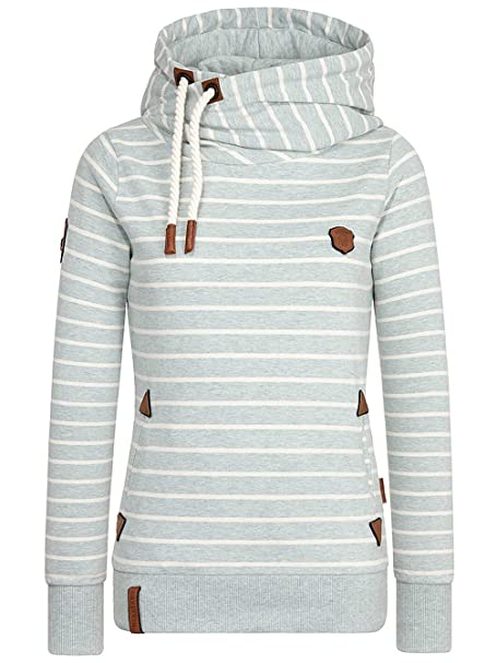 Sweater Hooded Women Naketano Fleißiges Bumserlein Hoodie