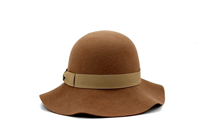 Women's Vintage Hats | Old Fashioned Hats | Retro Hats AccessHeadwear Alpas Ladies Lucile 100% Wool Felt Cloche Hat $29.99 AT vintagedancer.com