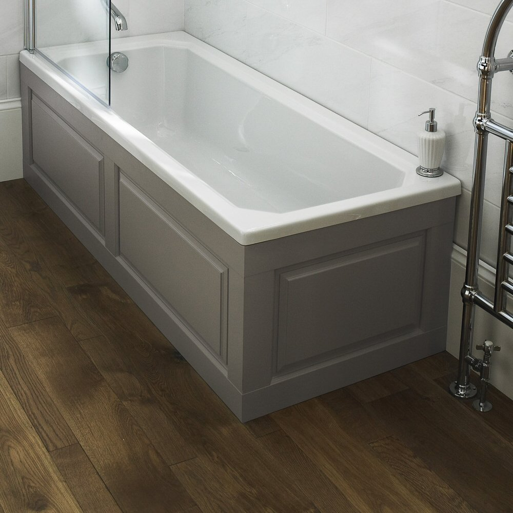 Old London Traditional Style Bathroom Stone Grey 1700mm Standard ...