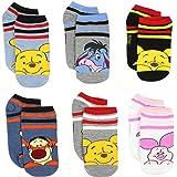 Disney Winnie the Pooh Womens 6 pack Socks