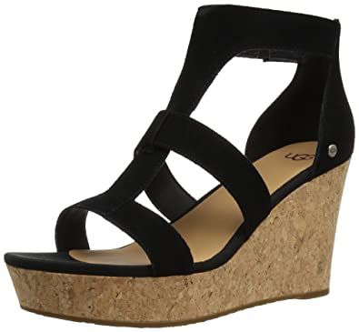 UGG® Whitney Suede Wedge Sandals OwW8m2La