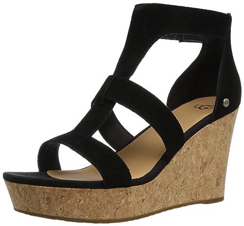 dca93ba60e1 UGG Womens Whitney Wedge Sandal: Amazon.ca: Shoes & Handbags