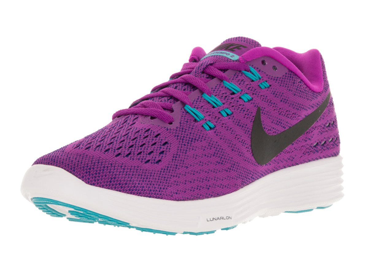 NIKE Women's Lunartempo 2 Running Shoe B014EBV9L4 7.5 B(M) US|Hyper Violet/Black/Concord/Gamma Blue