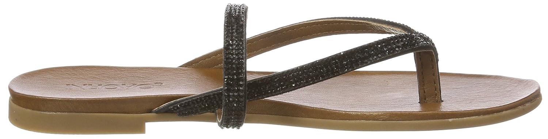 Inuovo Damen 8427 Zehentrenner, Schwarz Schwarz Schwarz (schwarz) 3bfd2e