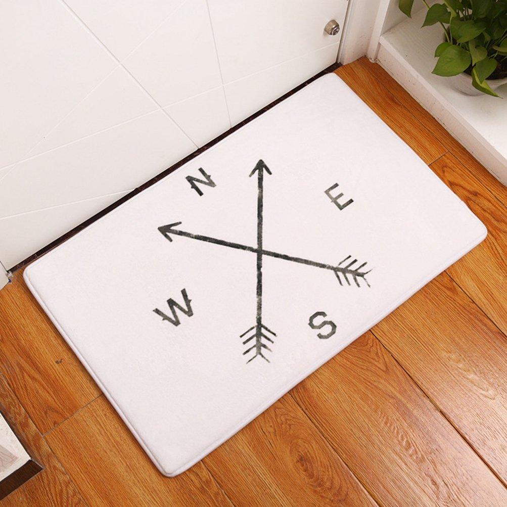 LamourBear Arrows Doormat Decoration Art Door Mat Rug Indoor//Outdoor//Front Door//Bathroom Mats Bedroom Doormat 31.5 x 20 W L