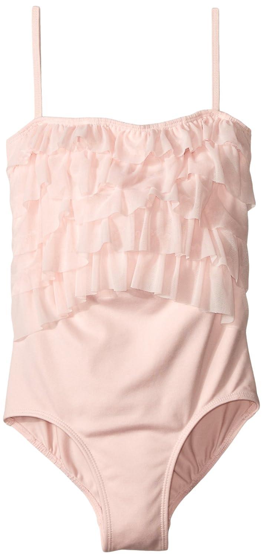 Danskin PANTS ガールズ B00VITIAZE Petal Pink/Ruffle Medium (8/10)