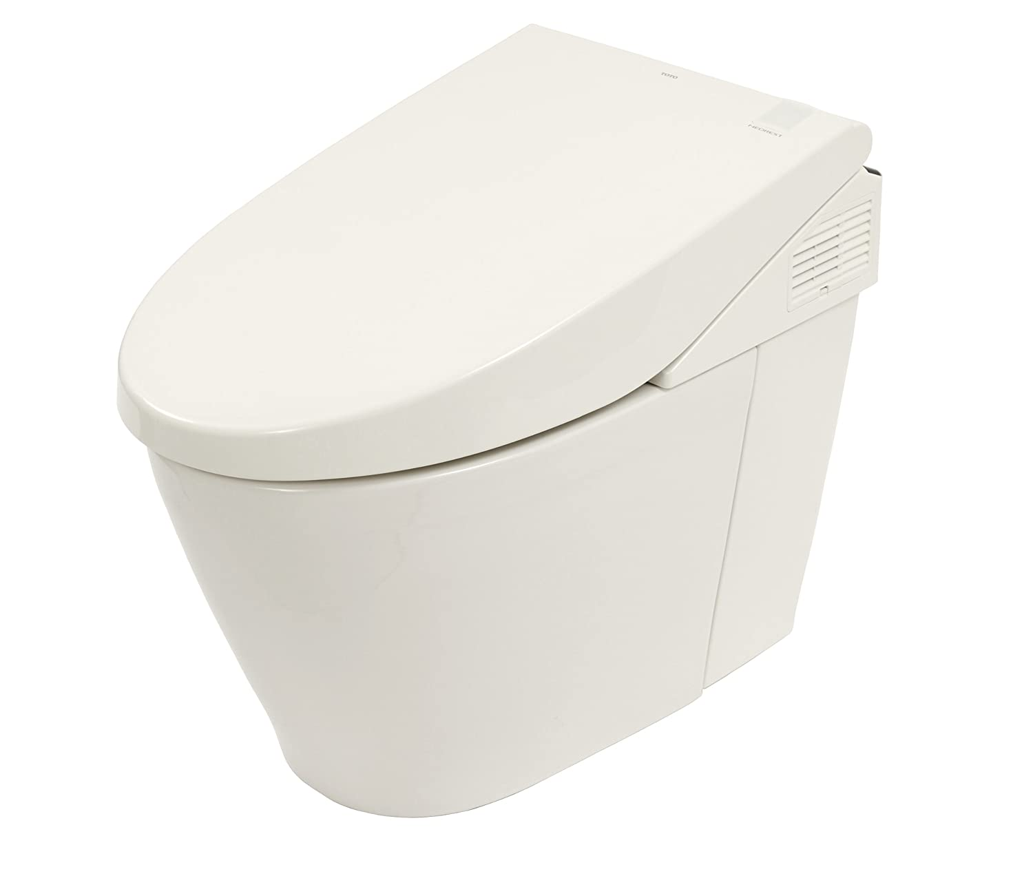 TOTO MS980CMG#01 Neorest 550 Dual Flush One Piece Toilet, Cotton ...