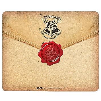 Alfombrilla para ratón con forma de la carta de Hogwarts ...