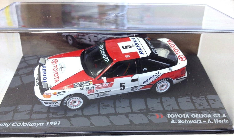 Générique Toyota CELICA GT-4 Rally Catalunya 1991 - Schwartz - IXO 1/43: Amazon.es: Juguetes y juegos