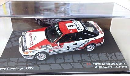 Générique Toyota CELICA GT-4 Rally Catalunya 1991 - Schwartz - IXO 1/43