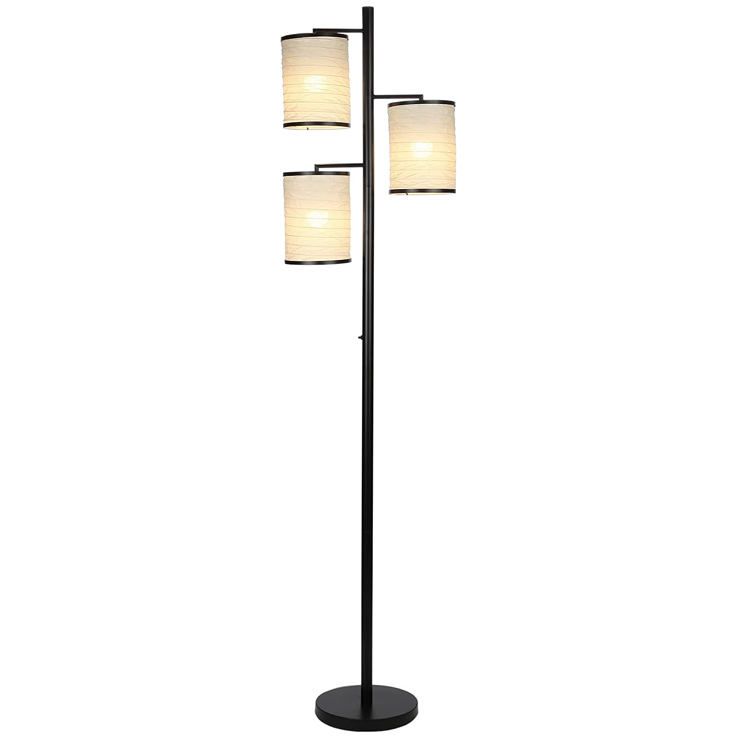 brightech liam led floor lamp  classy and stylish  light led tree lamp decorative interior design standing lamp  includes brightech lightprowatt . brightech liam led floor lamp  classy and stylish  light led