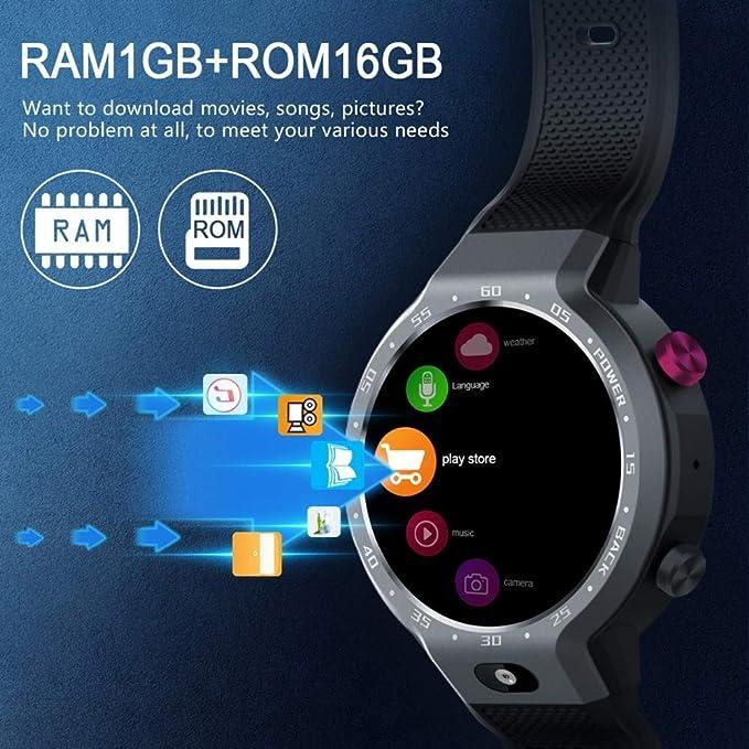 SanQing Reloj GPS Inteligente con Ranura para Tarjeta SIM ...