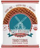 Sweet Amsterdam Gluten Free, Organic & Dairy Free Stroopwafel - Traditional, 12-Pack
