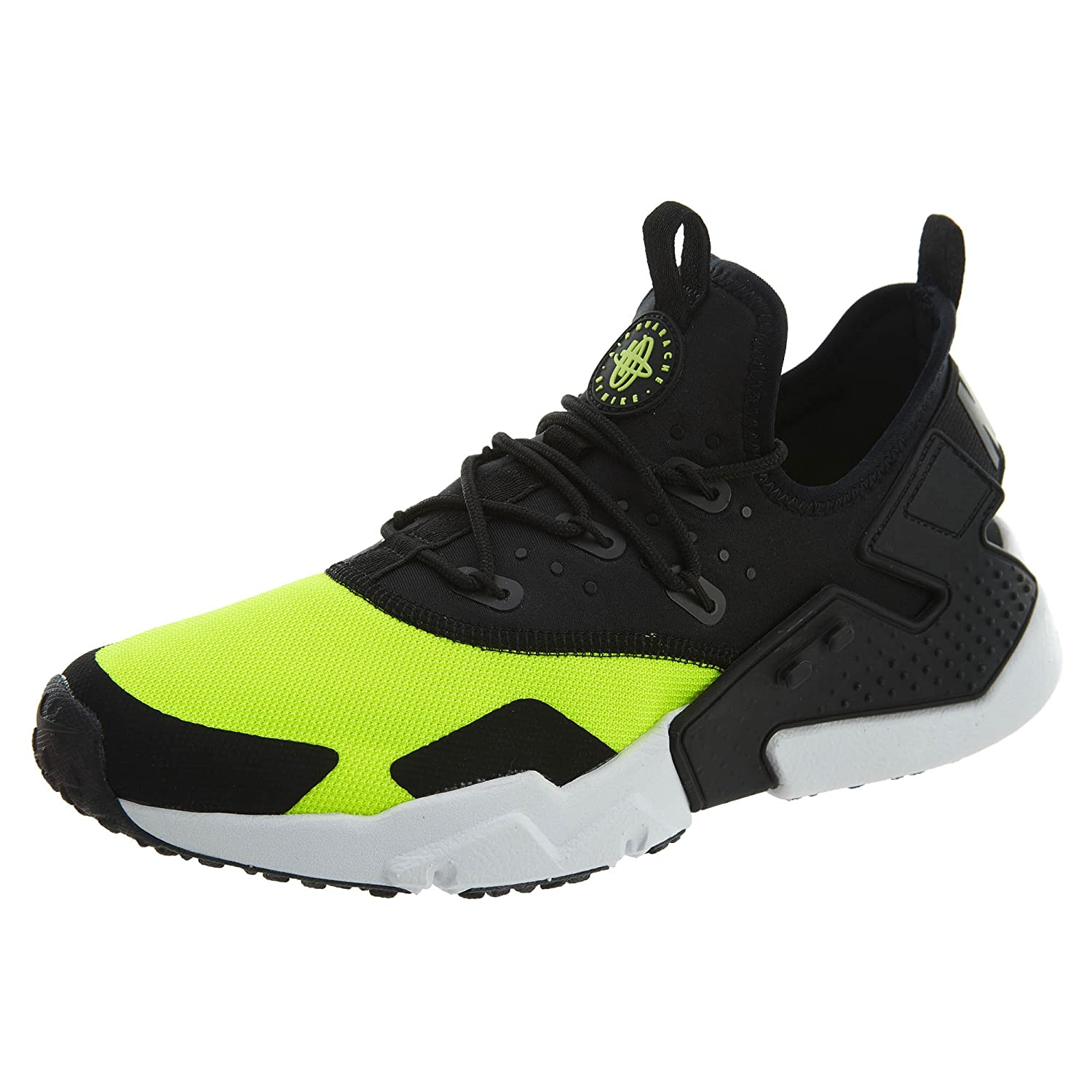 low priced 3f3b7 8efd5 Amazon.com   Nike Air Huarache Drift Mens Style  AH7334-700 Size  12  Volt Black-White   Athletic