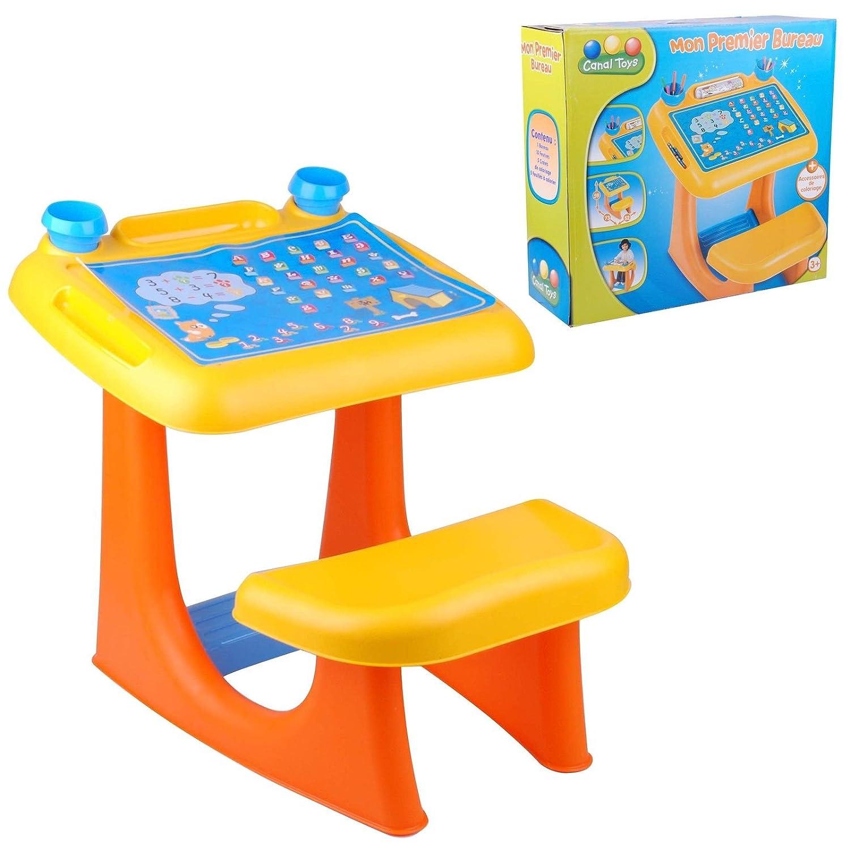 bureau enfant eveil activit manuelle compter educatif jeu jouet chambre amazonfr jeux et jouets. Black Bedroom Furniture Sets. Home Design Ideas