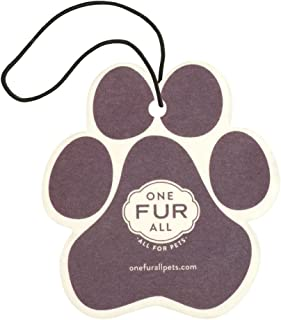 product image for One Fur All Pet House Car Air Freshener, Pack of 4 – Lavender Green Tea - Non-Toxic Air Freshener, Pet Odor Eliminating Air Freshener for Car, Ideal for Small Spaces, Dye Free Dog Car Air Freshener