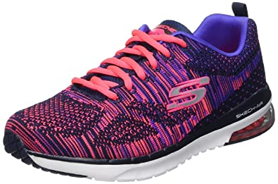 Damen Skechers Skech Air Infinity Stand Out Trainers Weiß