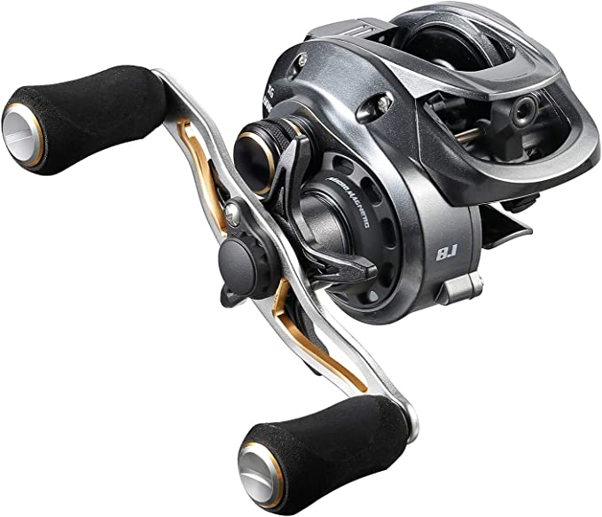 Metal 9+1BB Fishing Reels Baitcasting Fishing Wheel 7.2:1 Gear Ratio L//R Hand